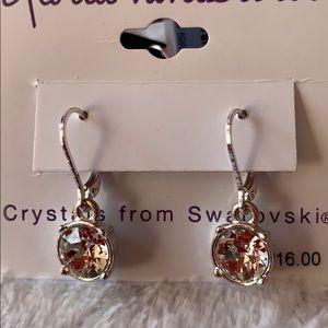 Gloria Vanderbilt Jewelry - Gloria Vanderbilt dangle crystal earrings